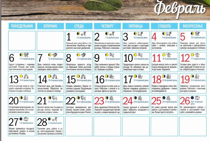 лунный календарь на февоаль 2017 термобелье CRAFT